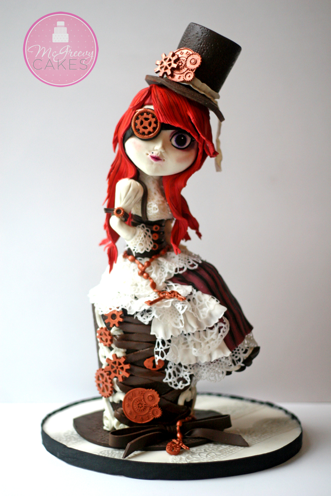 Steampunk Cake Decorating Youtube