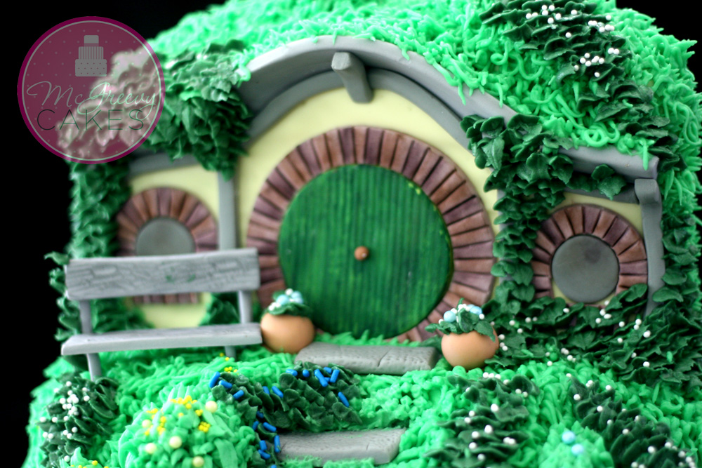 Lord Of The Rings Hobbit House Cake Mcgreevy Cakes