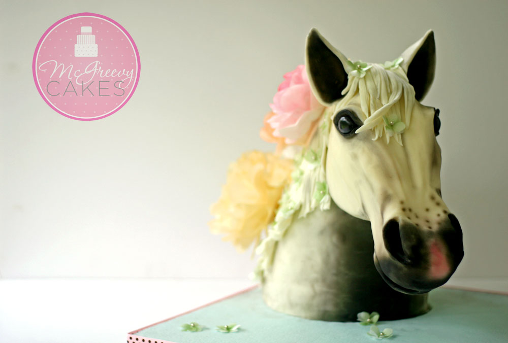 Horse Head Cake Tutorials McGreevy Cakes