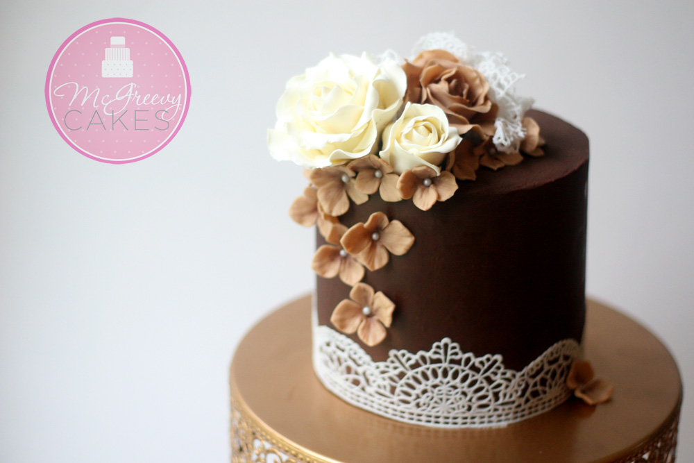 chocolate wedding cakes pinterest ganache a cake with sharp edges mcgreevy cakes 12796