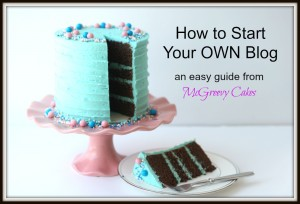 Time to start your OWN blog.  Here's how, in three easy steps!