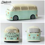 Remote Control VW Bus Cake!
