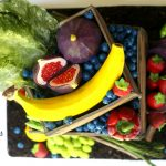 Vegetable & Fruit Crate Cake with Free Banana Tutorial!